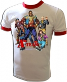A-Team TV Show starring Mr. T Vintage T-Shirt border=
