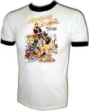 American Graffiti Hot Rod Vintage Iron-On T-Shirt border=