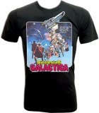 Battlestar Galactica 1978 Vintage Movie T-Shirt border=