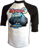Chevrolet Monster Chevy 4X4 Vintage T-Shirt border=