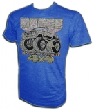 Dodge Powerwagon 4X4 Vintage Distressed T-Shirt border=