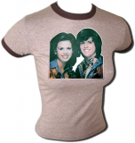 Donnie & Marie Variety Show Promo Vintage T-Shirt border=