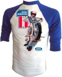 Evel Knievel 1973 Ideal Toy Co. Promo Vintage T-Shirt border=