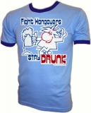 Fight Hangovers Stay Drunk Archie Vintage T-Shirt border=