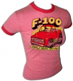 Ford Sexy F-100 Classic Pick-UpTruck Vintage T-Shirt border=