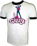 GREASE 1978 Advance Poster Vintage T-Shirt border=