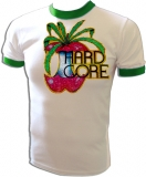 Hard-Core Pot Smoker Apple Lover Vintage T-Shirt border=
