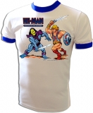 He-Man & Skeletor MOTU Toyline Vintage T-Shirt border=