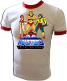 He-Man MOTU Cartoon Heroes Vintage T-Shirt border=