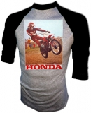 Honda Gaylon Mosier 1974 RC Works Vintage T-Shirt border=