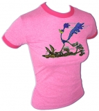 Looney Tunes Road Runner WB Vintage T-Shirt border=