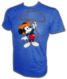 Mickey Mouse Roping Cuties Disneyland Vintage T-Shirt border=