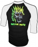 Nuclear Youth 80's Glam Skateboard Vintage T-Shirt border=