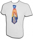 Original 1975 Pin-up Girl Tie Skateboard Vintage T-Shirt border=