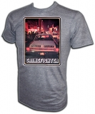 Plymouth 1969 Belvedere Police Car Vintage T-Shirt border=