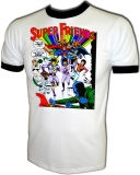 Super Friends Wonder Twins & Gleek Vintage T-Shirt border=