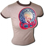 Surfing Fluid Drive Sexy 70's Vintage T-Shirt border=