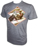 Suzuki Roadracing Champion Barry Sheene Vintage T-Shirt border=