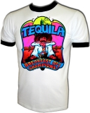 Tequila Breakfast of Champions Vintage T-Shirt border=