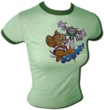 Tom & Jerry Soccer Score! MGM Cartoon Vintage T-Shirt border=