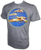 Vintage 1979 X-Wing-Viper Iron-On T-Shirt border=