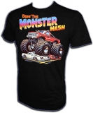 Ford Monster Truck Chevy Crusher Vintage T-Shirt