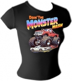 Ford Monster Truck Sexy Crusher Vintage T-Shirt