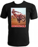 Honda Gaylon Mosier 1974 RC Works Vintage T-Shirt