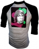 Rolling Stones Mick Jagger Black Light Vintage T-Shirt