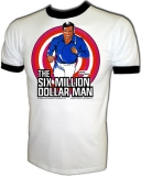 Six Million Dollar Man Vintage 1977 TV Show T-Shirt