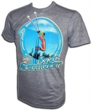 Skiing Back Scratcher 70's Style Vintage T-Shirt