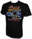 Soccer Get More Kicks Vintage Football T-Shirt
