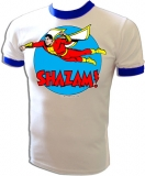 Super Friends Capt. Marvel Shazam Vintage T-Shirt