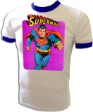 Super Friends Neal Adams Superman Vintage T-Shirt