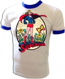Super Friends Supergirl Vintage T-Shirt