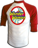 Super Friends Wonder Woman Logo Vintage T-Shirt