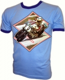 Suzuki Roadracing Champion Barry Sheene Vintage T-Shirt