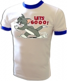 Tom & Jerry Let's Goo! Cartoon Vintage T-Shirt