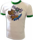 Tom & Jerry Soccer Score! MGM Cartoon Vintage T-Shirt