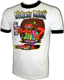 Village Drunk Party Time Ratfink Style Vintage T-Shirt